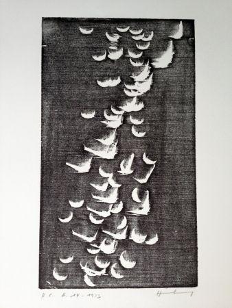 Gravure Sur Bois Hartung - H 14