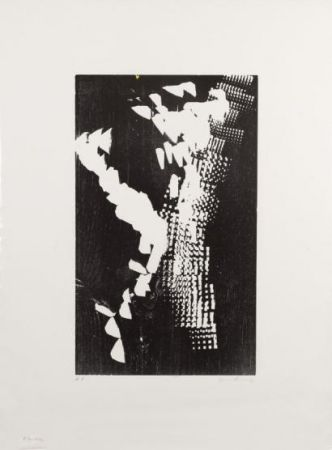 Lithographie Hartung - H 1973-4