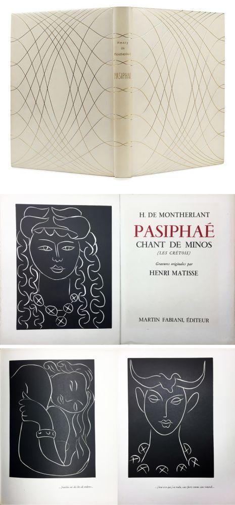 Livre Illustré Matisse - H. de Montherlant: PASIPHAE. Chant de Minos. (Les Crétois) Gravures originales d'Henri Matisse (1944).