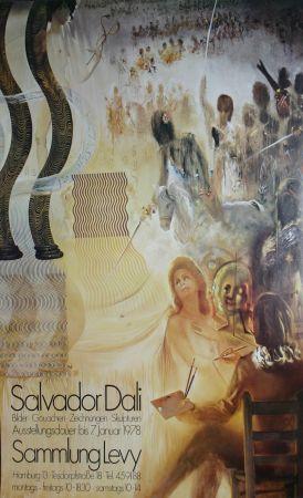 Affiche Dali - '' Hambourg 1978 ''