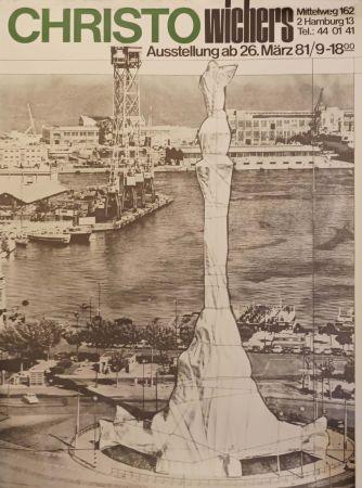 Affiche Christo - '' Hamburg ''