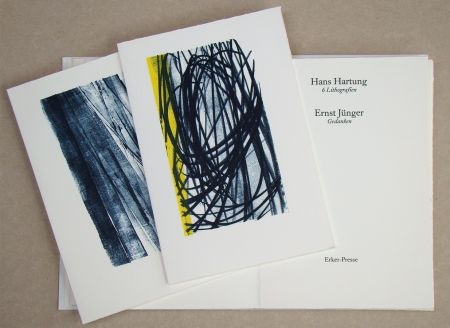 Livre Illustré Hartung - Hans Hartung 6 Lithografien & Ernst Jünger Gedanken