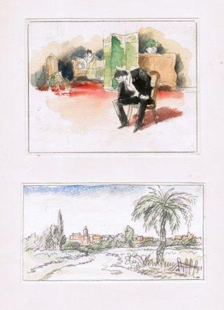 Livre Illustré Guilbert - Hans le marin; Un scandale au XVIIIe siècle; La femme et le pantin; Le manchot.