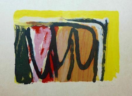 Lithographie Van Velde - Hantise