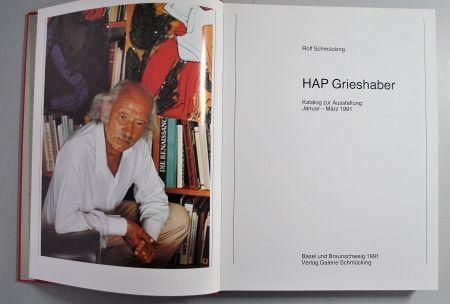 Livre Illustré Grieshaber - Hap Grieshaber Ausstellungskatalog 1991