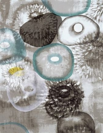 Sérigraphie Bleckner - Happiness For Instance II