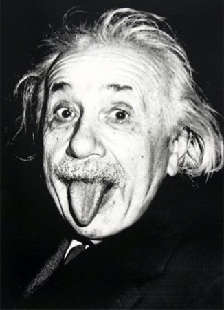 Sérigraphie Mr Brainwash - Happy birthday Einstein