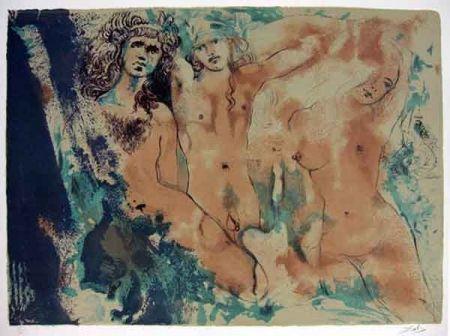 Lithographie Dali - Happy Days