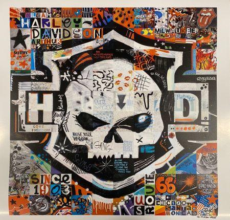 Affiche Ary Kp - Harley Davidson