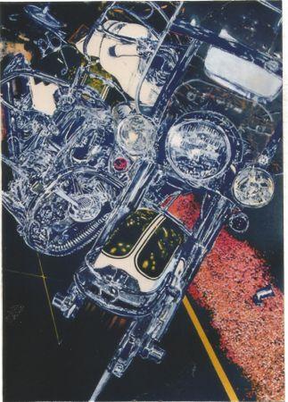 Sérigraphie Blackwell - Harley Davidson