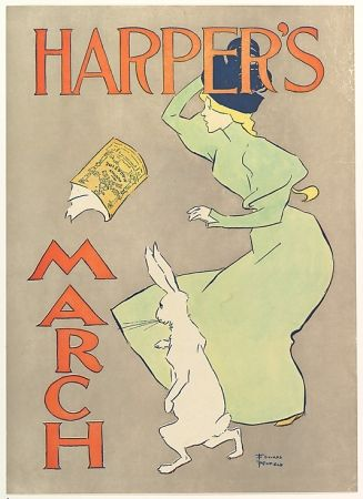 Lithographie Penfield - Harper's March