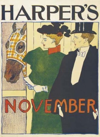 Lithographie Penfield - Harper's November