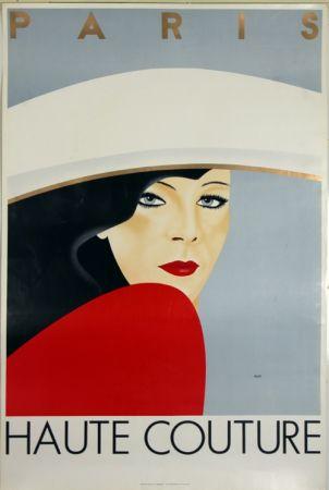 Lithographie Razzia - Haute Couture  Paris