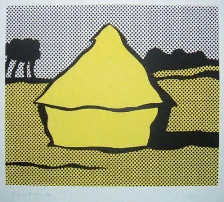 Sérigraphie Lichtenstein - Haystack