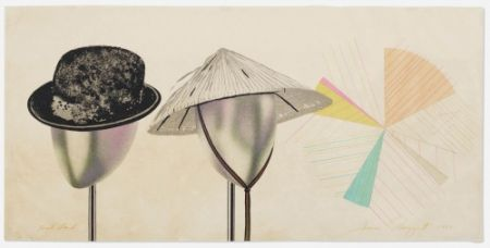 Lithographie Rosenquist - Head Stand