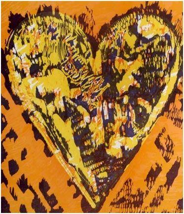 Gravure Sur Bois Dine - Heart For Film Forum (1993)