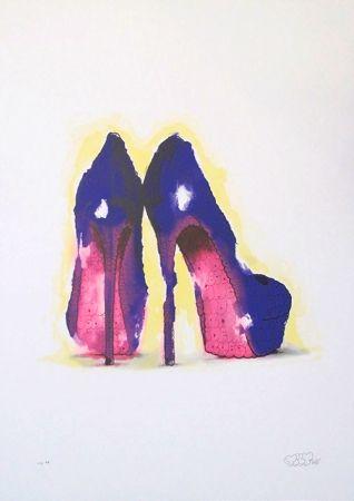 Sérigraphie Tilt - Heels (Purple)