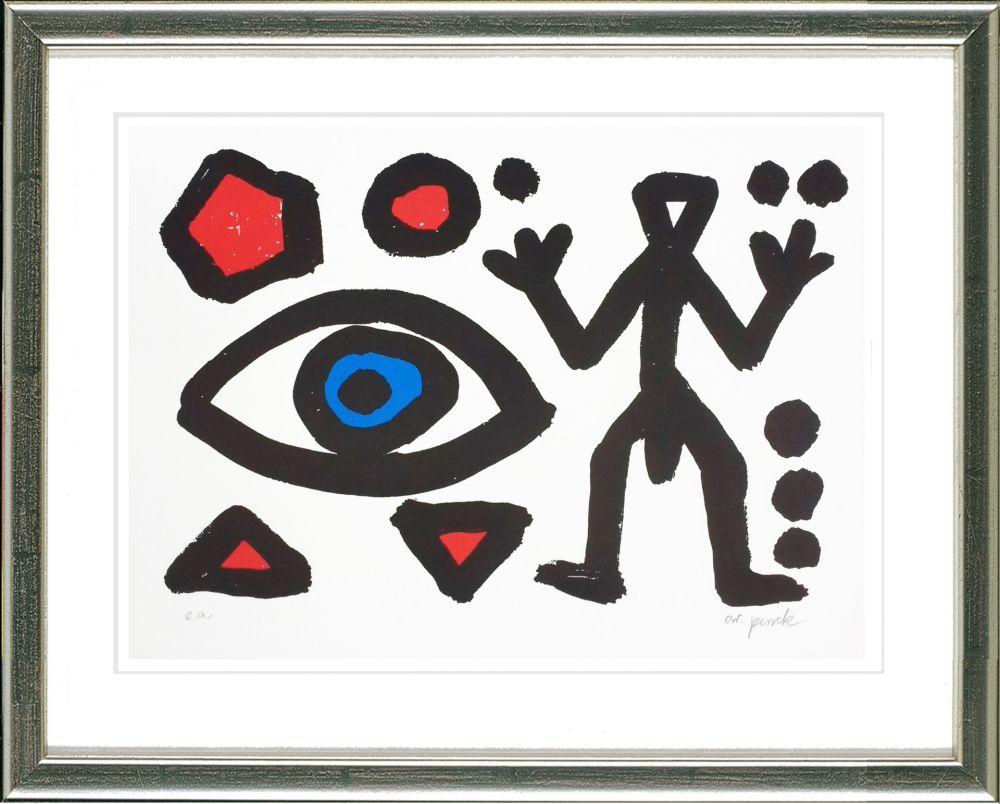 Sérigraphie Penck - HEIM