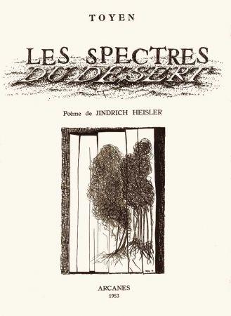 Livre Illustré Toyen - HEISLER (Jindrich). Les Spectres du désert.