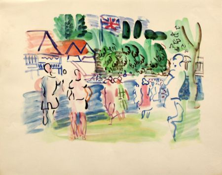Lithographie Dufy - Henley