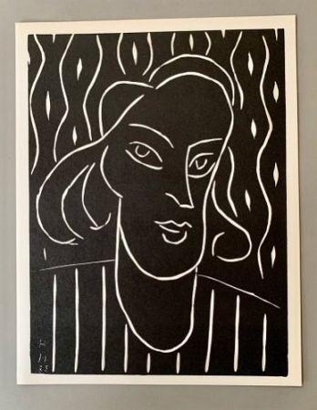 Linogravure Matisse - Henri Matisse -'Linocut' 'Teeny' 1938