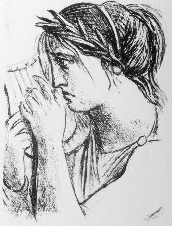 Lithographie Messina - Hermione Oresti