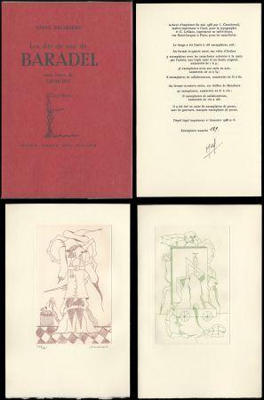 Livre Illustré Camacho  - Hervé Delabare : Les dits du sire de BARADEL. Eaux-fortes de Camacho (1968).