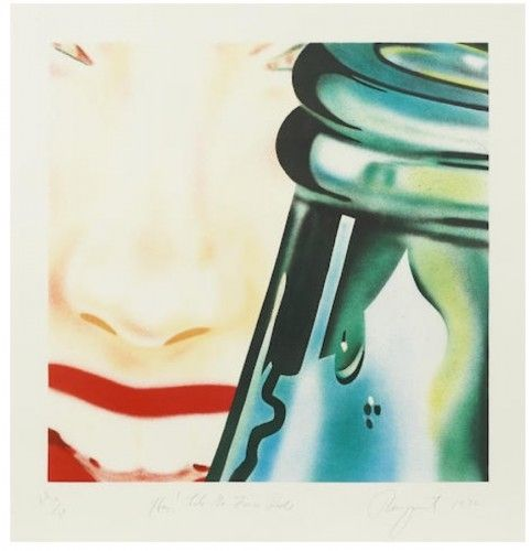 Lithographie Rosenquist - Hey! Let's go for a ride