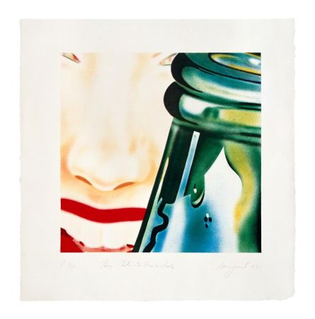 Lithographie Rosenquist - Hey Lets Go For A Ride