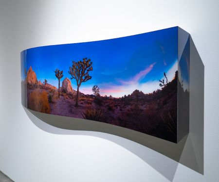 Aucune Technique Kidd - Hidden Rock 2 (Curved) from the Joshua Tree series
