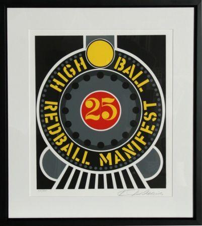 Sérigraphie Indiana - High Ball Redball Manifest