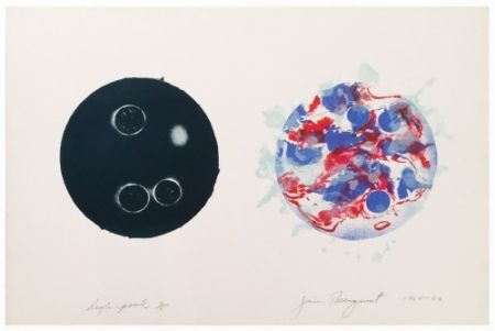 Lithographie Rosenquist - High Pool