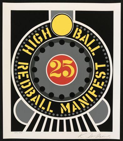 Sérigraphie Indiana - Highball on Redball Manifest