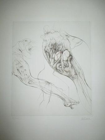Gravure Bellmer - Histoire'  De L'oeil