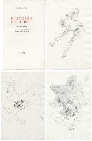 Livre Illustré Bellmer - HISTOIRE DE L'OEIL. Nouvelle version. Avec six gravures originales à l'eau-forte et au burin.