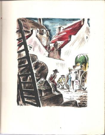 Livre Illustré Bonfils - Histoire de Manon Lescaut et du Chevalier des Grieux.