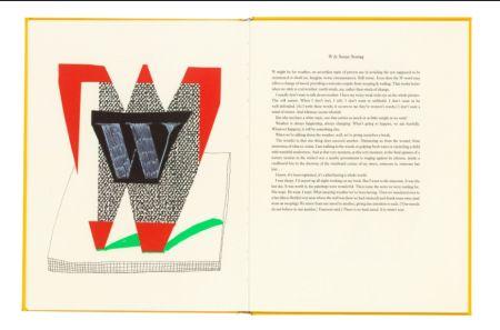 Multiple Hockney - Hockney's Alphabet. 1991. Signed.