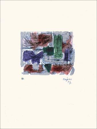 Lithographie Bazaine - Hollande III
