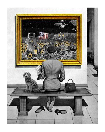 Sérigraphie Mr Brainwash - Hollymoon
