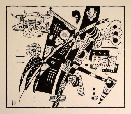 Gravure Sur Bois Kandinsky - (Holzschnitt um 1935)