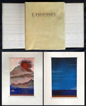 Livre Illustré Schmied - HOMÈRE : L'ODYSSÉE (1930-1933). L'exemplaire du traducteur de référence.