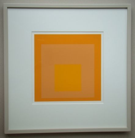 Sérigraphie Albers - Homage To The Square