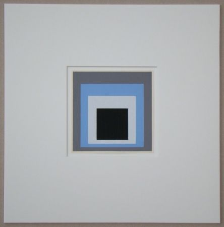 Sérigraphie Albers - Homage to the Square - Unconditioned