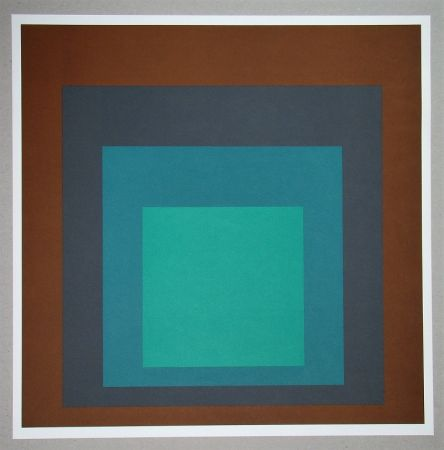 Sérigraphie Albers - Homage to the Square SP-1