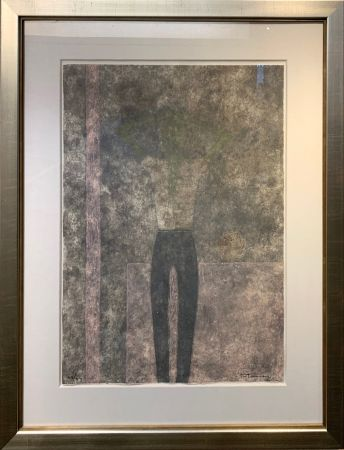 Gravure Tamayo - Hombre con brazos sobre la cabeza
