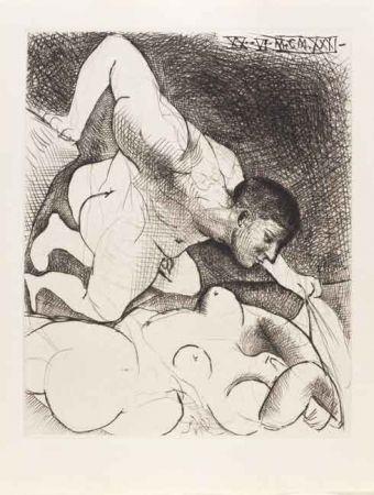 Pointe-Sèche Picasso - Hombre Descubriendo Una Mujer