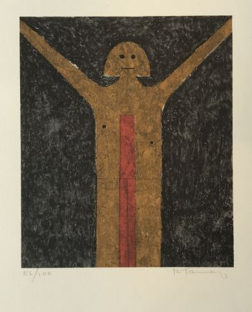 Lithographie Tamayo - Hombre (Man)