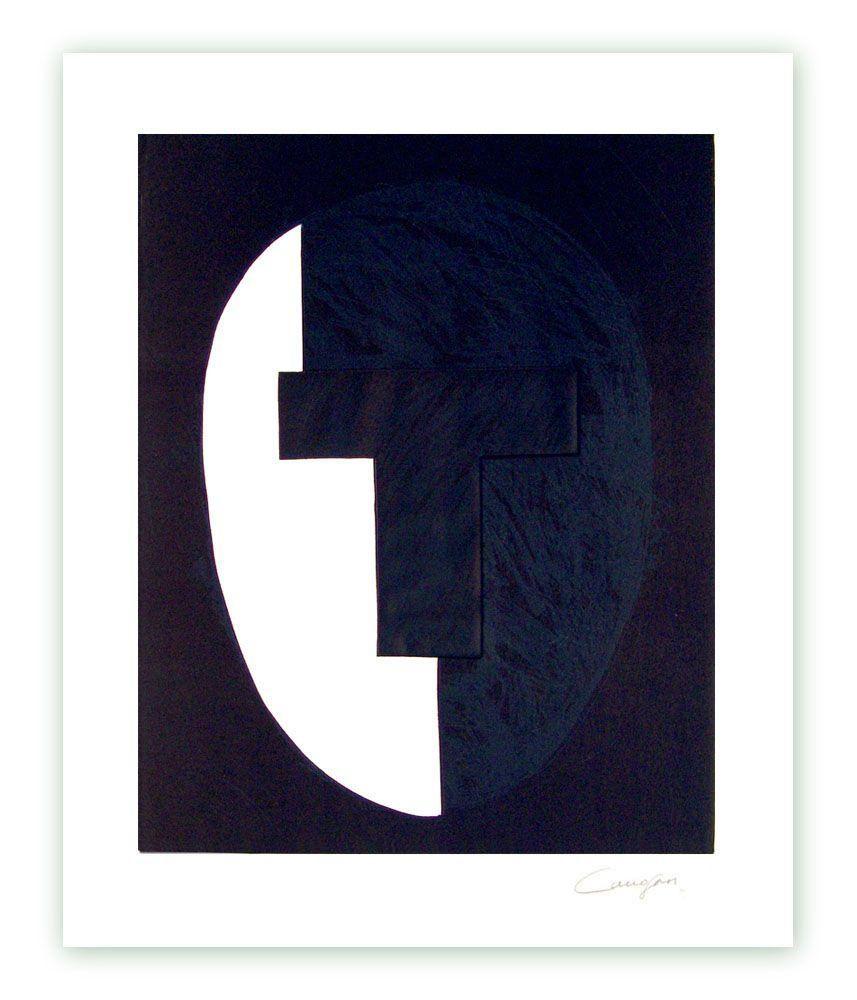 Gravure Canogar - «Homenaje a Julio González» Cabeza nº 4