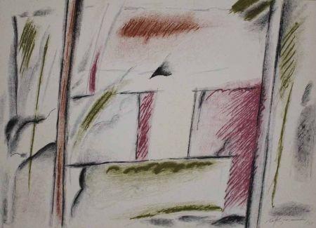 Lithographie Ràfols Casamada - Homenatge a Joan Prats