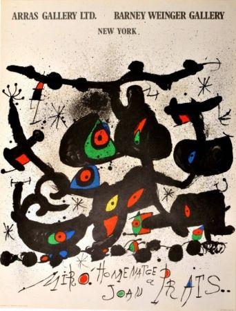 Affiche Miró - Homenatge a Joan Prats Arras Gallery